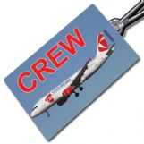CSA CZECH AIRLINES A320 Crew Tag